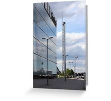 Glasgow Tower Greeting Card