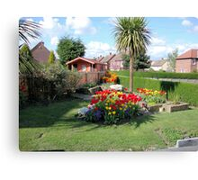 My little patch of paradise Canvas Print