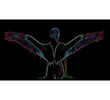 Patel Angel Glowing Variation  Photographic Print