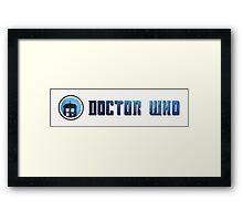 Doctor Who - Logo #5 Framed Print