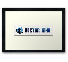 Doctor Who - Logo #5 Framed Print