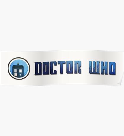 Doctor Who - Logo #5 Poster