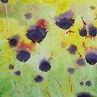 Song of the Flower... Abstract by Leslie Gustafson