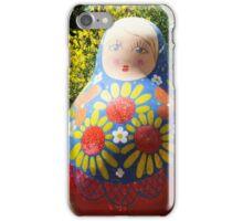 Giant Babushka doll iPhone Case/Skin