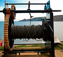 Boat Winch by Sue Knowles