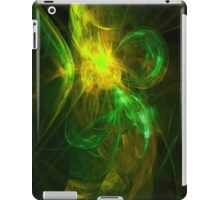 Alien Code 3 Yellow Green iPad Case/Skin
