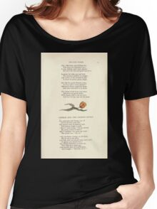 LIttle Ann and Other Poems by Jane and Ann Taylor art Kate Greenaway 1883 0033 The Gaudy Flower Women's Relaxed Fit T-Shirt
