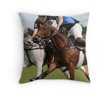 Who will win it! Throw Pillow