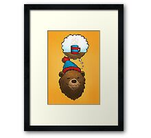 Novembears love coffee Framed Print