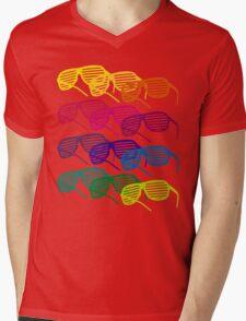 Glasses Mens V-Neck T-Shirt