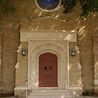Lutheran Door by WildestArt