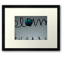 Open to interpretation Framed Print
