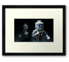 Lego Zombies Framed Print