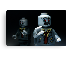 Lego Zombies Canvas Print