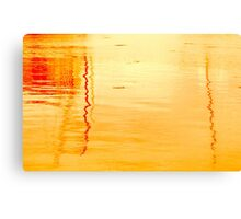 Reflections in Sunset Canvas Print