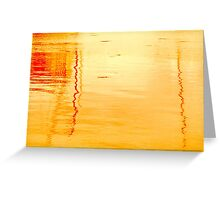 Reflections in Sunset Greeting Card