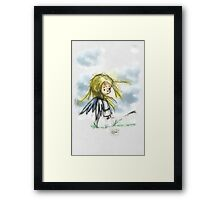 Angel of the Wind Framed Print