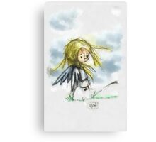 Angel of the Wind Canvas Print
