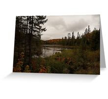 northern Ontario Greeting Card