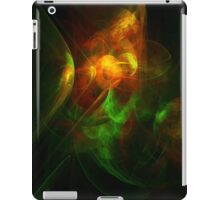 Alien Code Orange-Red Green iPad Case/Skin