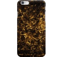 Neon Flame Gold iPhone Case/Skin