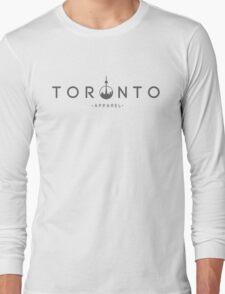 Toronto Apparel - Writing Long Sleeve T-Shirt