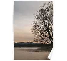 The Brecons from Llangorse Lake Poster