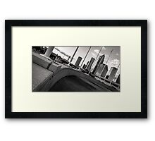 Stand Up Strait Framed Print