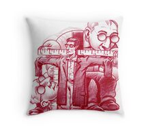 Measuring your clothes Throw Pillow