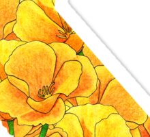 California Flowers Sticker