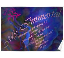 My Immortal Poster