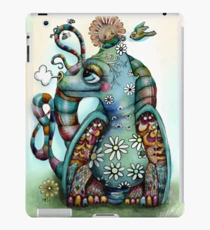 Misty the Friendly Rainbow Dragon iPad Case/Skin