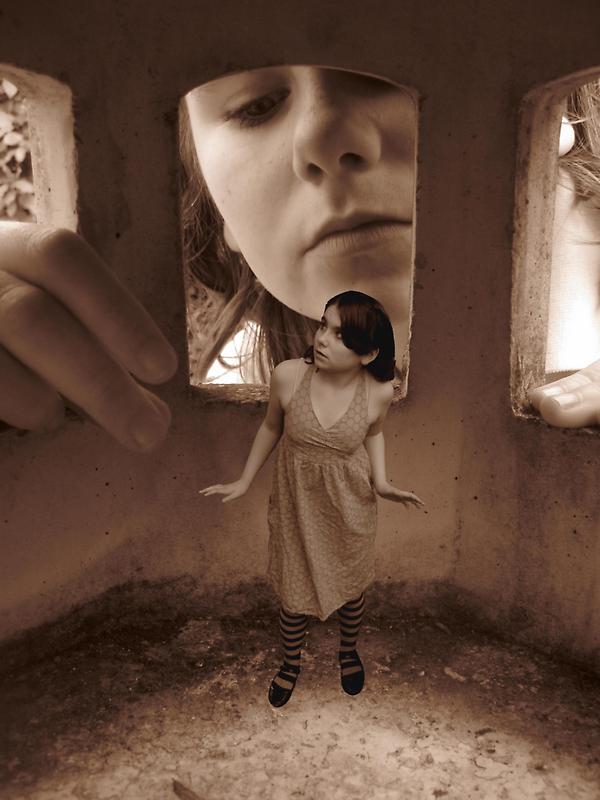 'Someone's watching me..' by Susie Hawkins