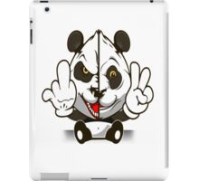 Panda - Fuck Peace iPad Case/Skin
