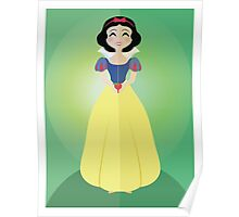 Symmetrical Princesses: Snow White Poster