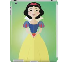 Symmetrical Princesses: Snow White iPad Case/Skin