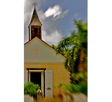 St. Barthelémy Anglican Church Photographic Print
