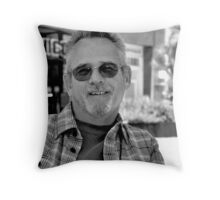 """ Tit for tat "" Throw Pillow"