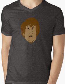 Shaggy Mens V-Neck T-Shirt