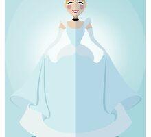 Symmetrical Princesses: Cinderella by Jennifer Mark