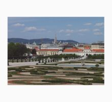 View from Upper Belvedere, Vienna Austria Kids Clothes