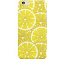 Lemon Slices Background iPhone Case/Skin