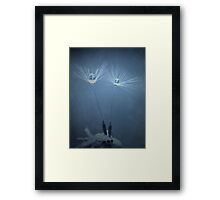 Raindrop Wishes Framed Print