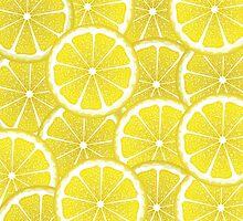 Lemon Slices Background by AnnArtshock