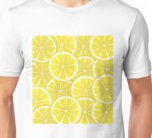 Lemon Slices Background Unisex T-Shirt