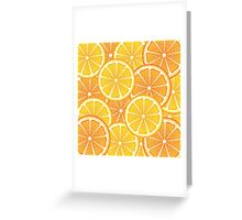 Various Citrus Slices 2 Greeting Card