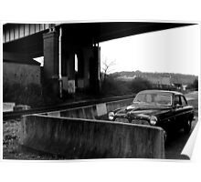 Pittsburgh, PA: Alone Under a Bridge Poster
