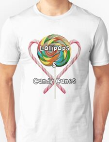 Lollipops and Candy Canes Unisex T-Shirt