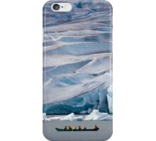 Exploring Mendenhall Lake iPhone Case/Skin