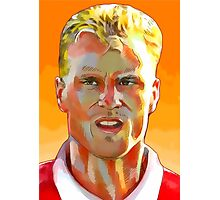 Dennis Bergkamp - Stillness & Speed Photographic Print